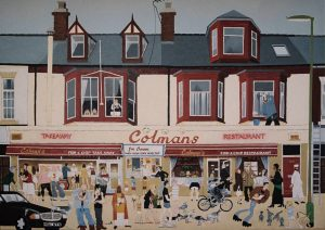 Colmans postcard