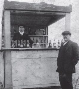 First Colmans establishment on the beach front
